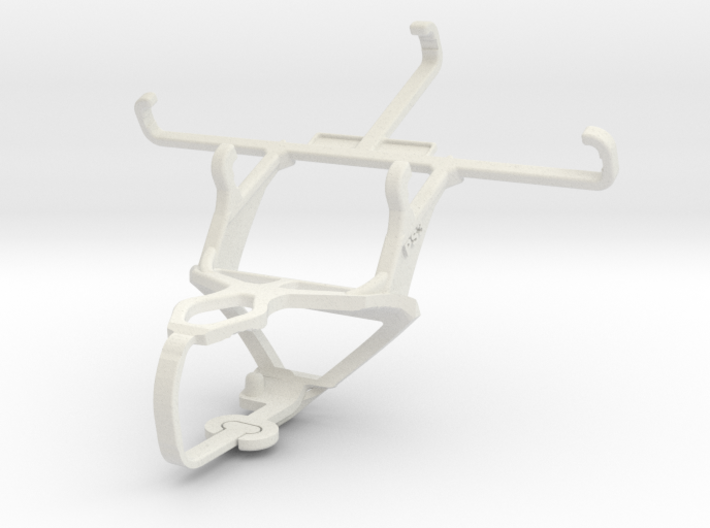 Controller mount for PS3 & Lava Iris X1 mini 3d printed