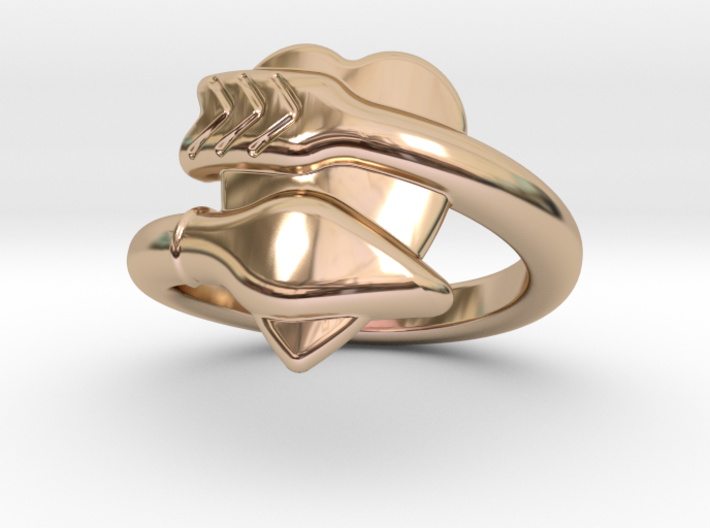 Cupido Ring 22 - Italian Size 22 3d printed