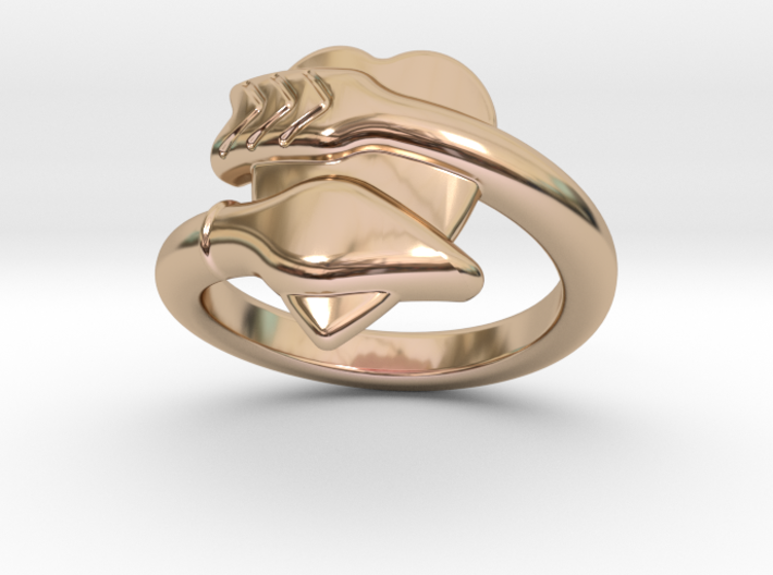 Cupido Ring 29 - Italian Size 29 3d printed