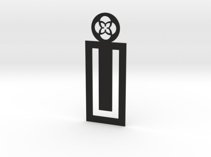 TU Bookmark 3d printed