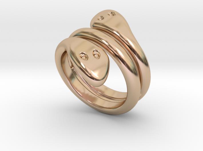 Ring Cobra 21 - Italian Size 21 3d printed