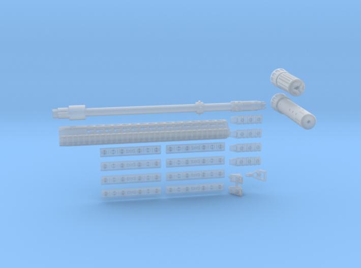 1:6 URX4 kit 3d printed