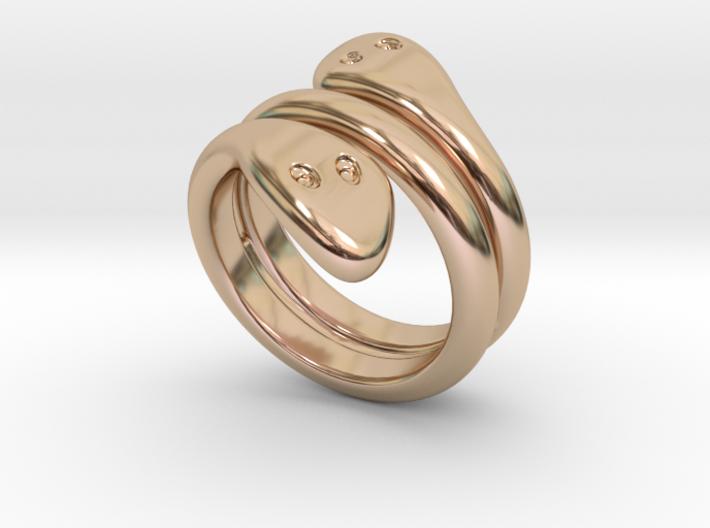 Ring Cobra 28 - Italian Size 28 3d printed