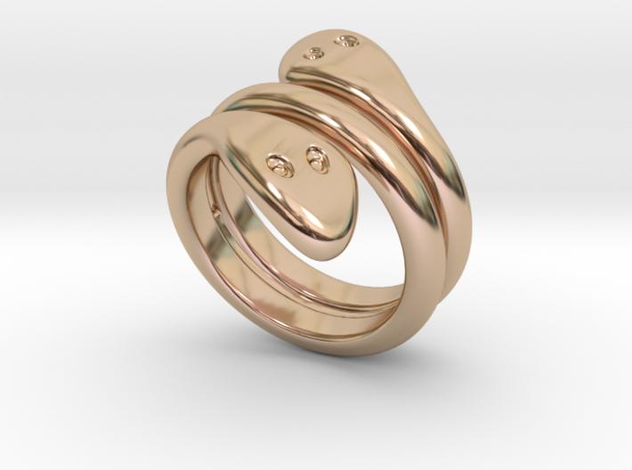 Ring Cobra 30 - Italian Size 30 3d printed