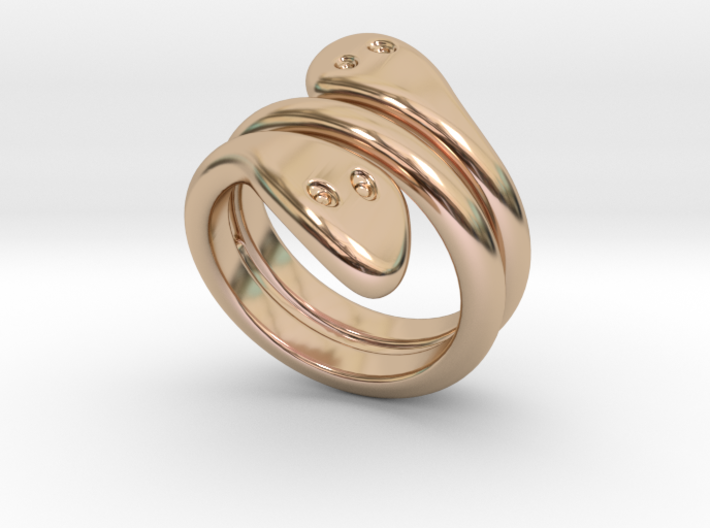 Ring Cobra 33 - Italian Size 33 3d printed