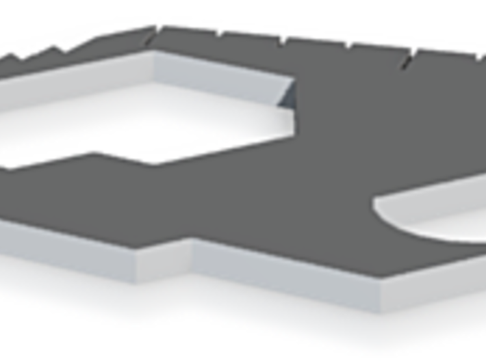 KrabKlaw Utility Pendant 3d printed