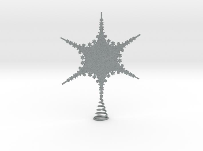Sparkle Snow Star 2 - Tree Top Fractal - M 3d printed