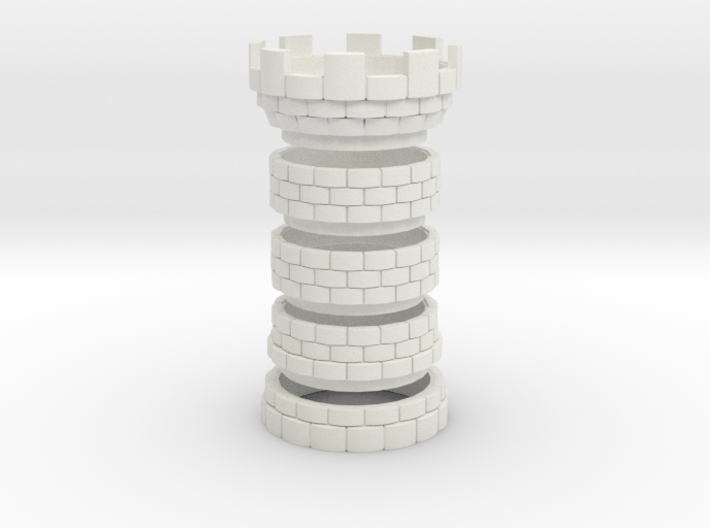 The Tower [FINAL] Seperated 3d printed