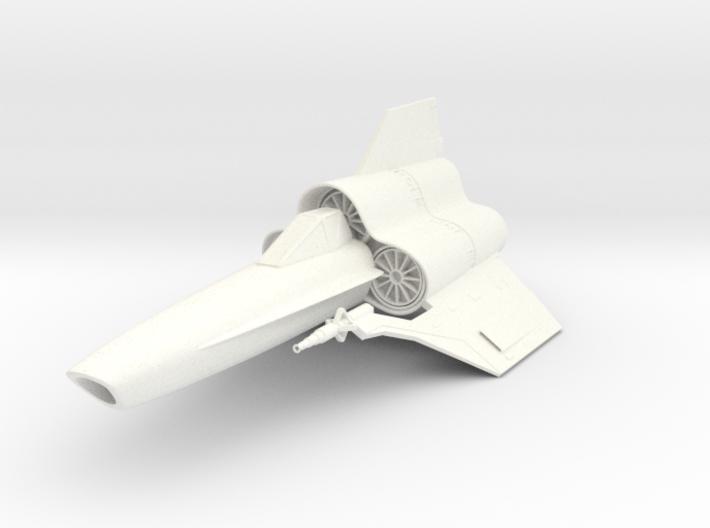 "Viper MK-IV 3"" 3d printed"