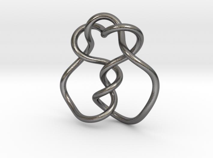 0361 Hyperbolic Knot K5.20 3d printed
