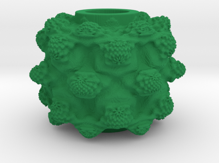 MandelBulb Power8 OM Particle 3d printed