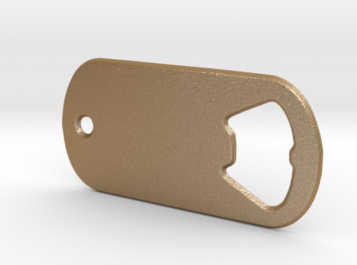 Battlefield Inspired Bottle Opener Dog Tag 3d printed