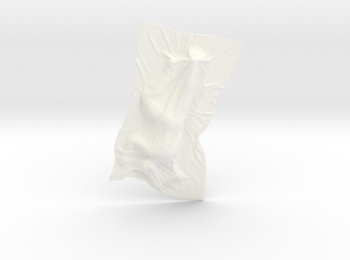 Shroud shape penholder 001 3d printed