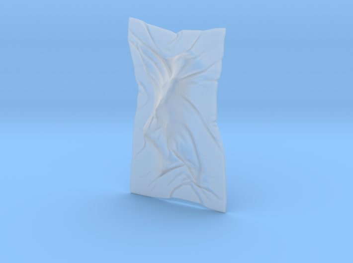 Shroud shape penholder 003 3d printed