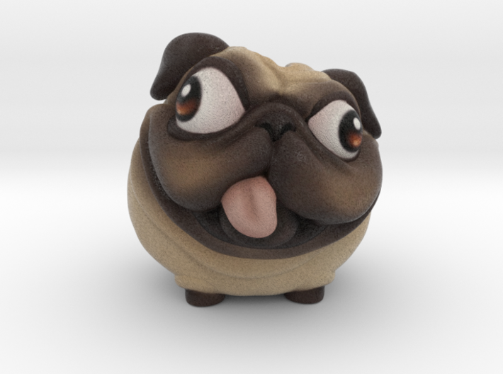 PuggyBanks 2inch Penny Holder 3d printed