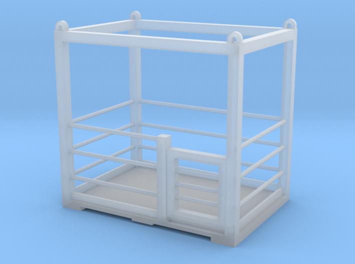 Man Basket 3d printed