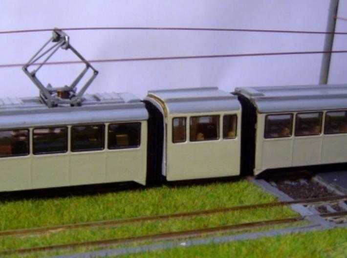 Bausatz für Hansa GT4 auf Basis Kato-Düwag, 1:160 3d printed