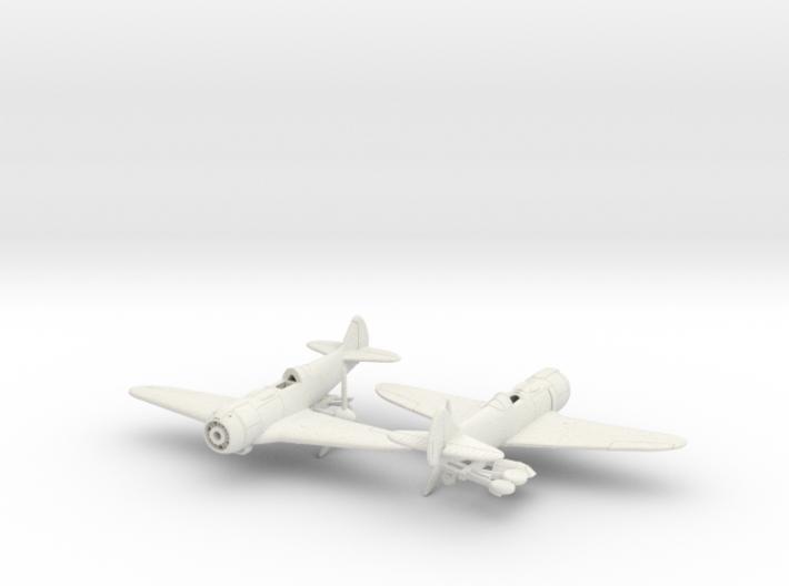 1/200 Lavochkin La-5FN 3d printed