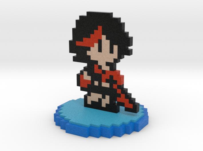 8-Bit Ryuko Matoi 3d printed