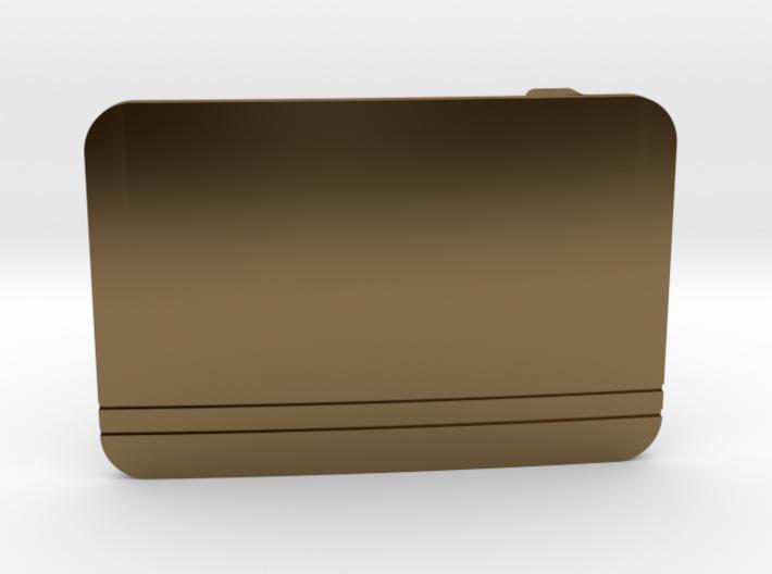 Custom Text Belt Buckle 3d printed