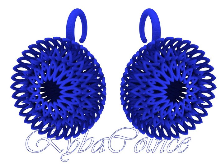 Plugs / gauges/ The Sunflowers 8g ( 3.2 mm) 3d printed