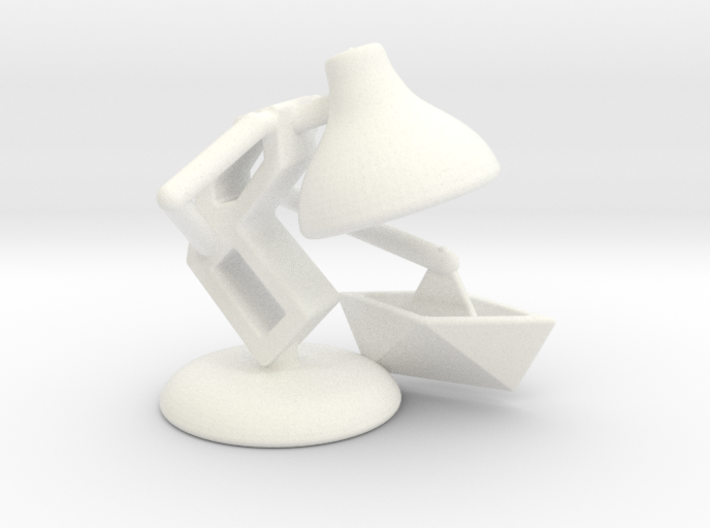 """JuJu - """"Playing with paper boat"""" - DeskToys 3d printed"""