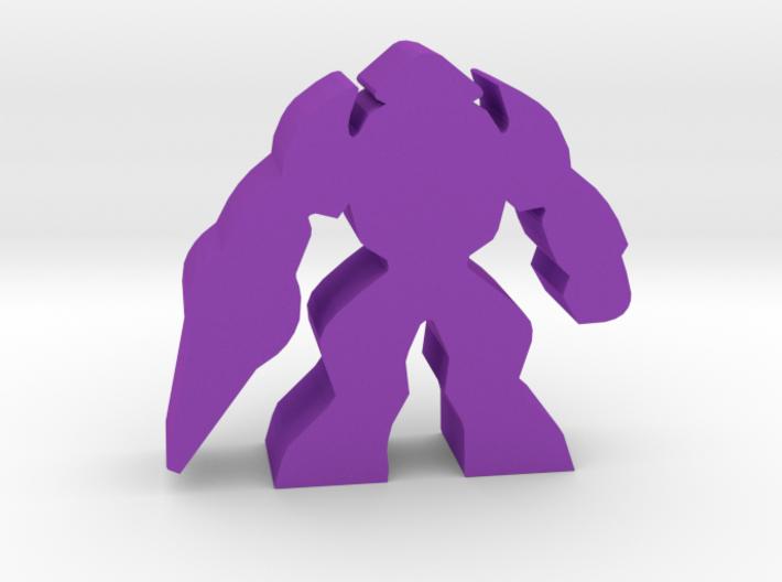 Game Piece, Alien Shocktrooper 3d printed