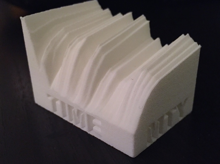 2014 Edition -- U.S. Treasury Yield Curve 3d printed
