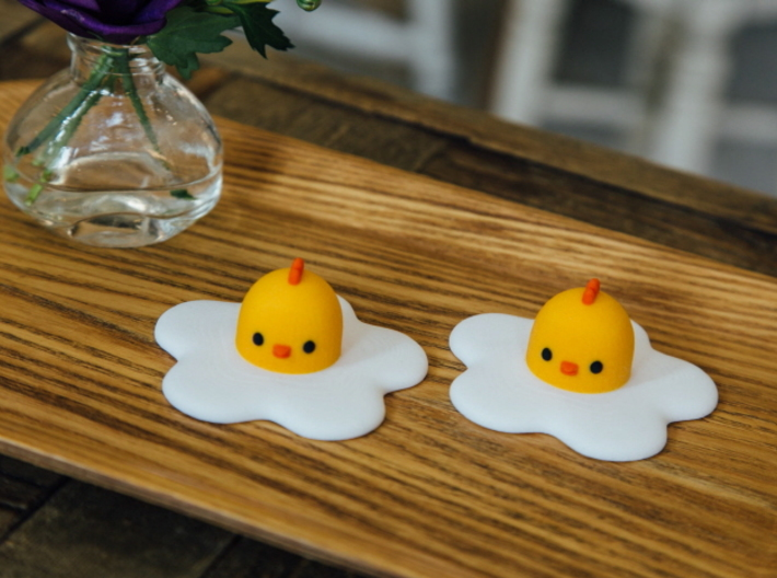 Chicks Fried _ ( Normal ) 3d printed