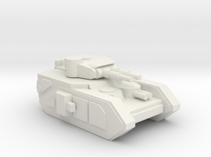 [5] Heavy Tank (Dual Cannon) 3d printed