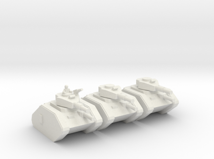 [5] Main Battle Tank Platoon 3d printed