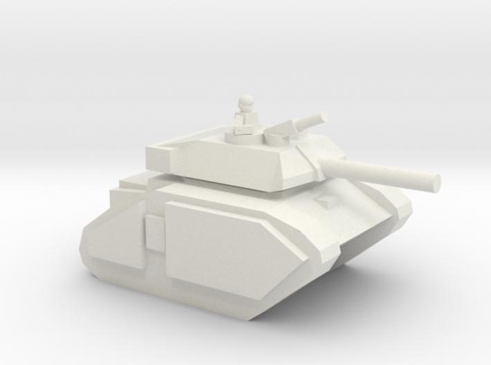 [5] Advanced Main Battle Tank (w Commander) 3d printed