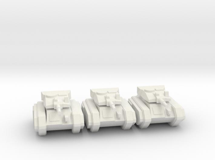 [5] Airborne Tank Platoon 3d printed