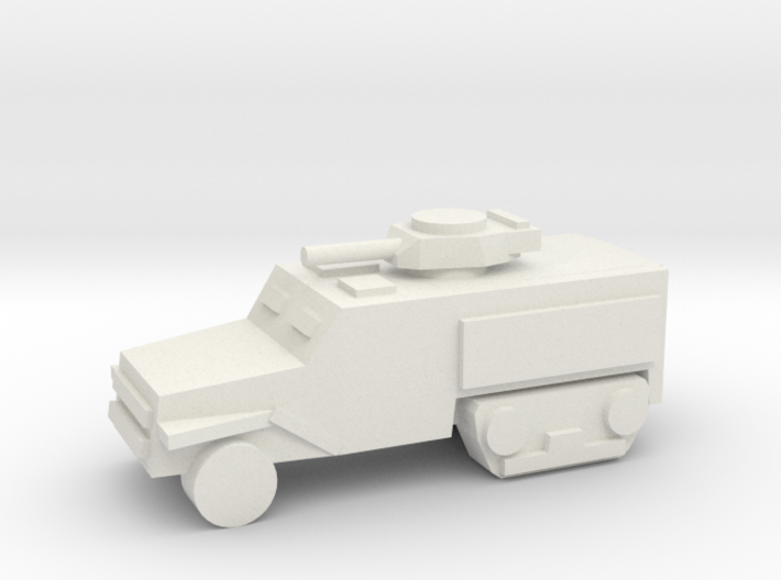 [5] Half-Track (Armored w/Turret) 3d printed