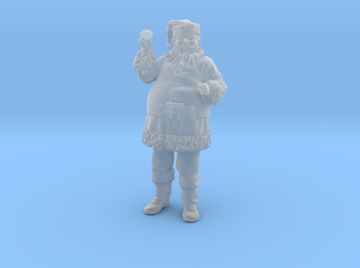 Santa Holding an Ornament 1:20 scale 3d printed