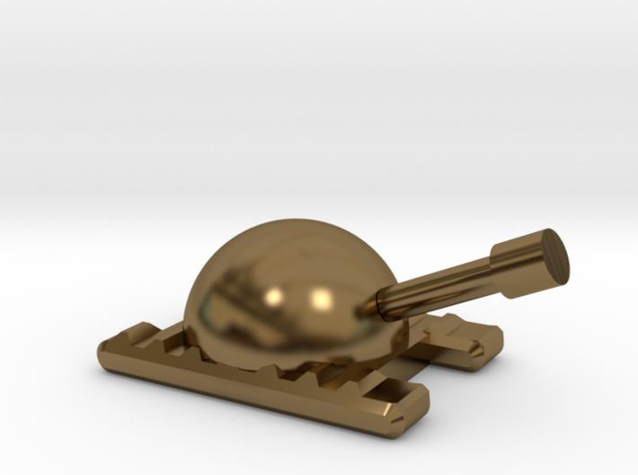 Monopoly Tank Custom Piece 3d printed