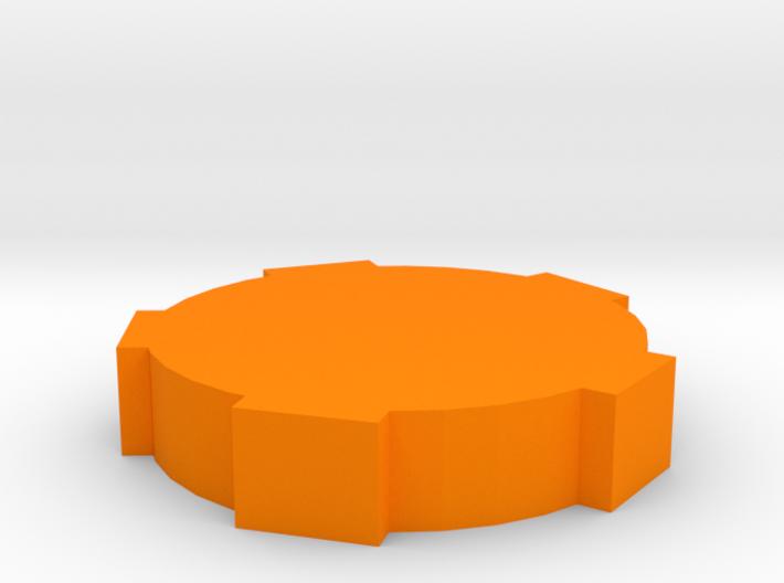 Game Piece, Round Walls 3d printed