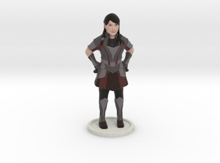 Lady warrior 3d printed