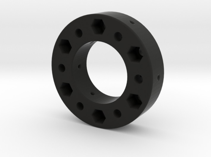Fanatec 52mm To 70 mm Adapter 17mm Thick 3d printed