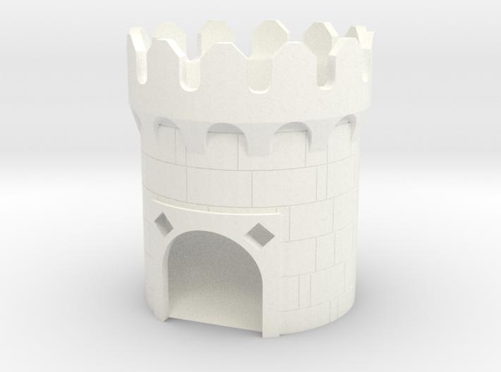 Medieval Dice Tower 3d printed