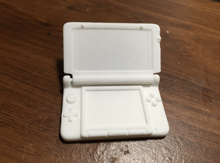 Mini Nintendo 3dsXL: 1/4 Scale 3d printed