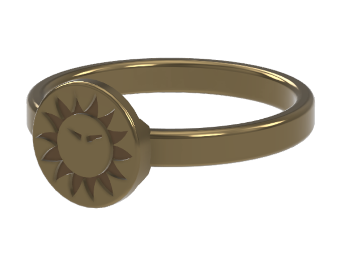 Ring of Everlasting Sun 3d printed