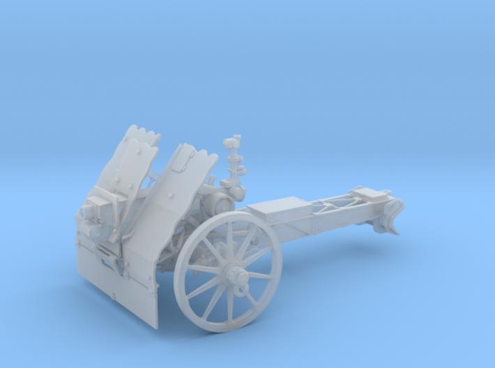 GA WIP 7.5 cm le.IG 18 German gun 1:48 3d printed