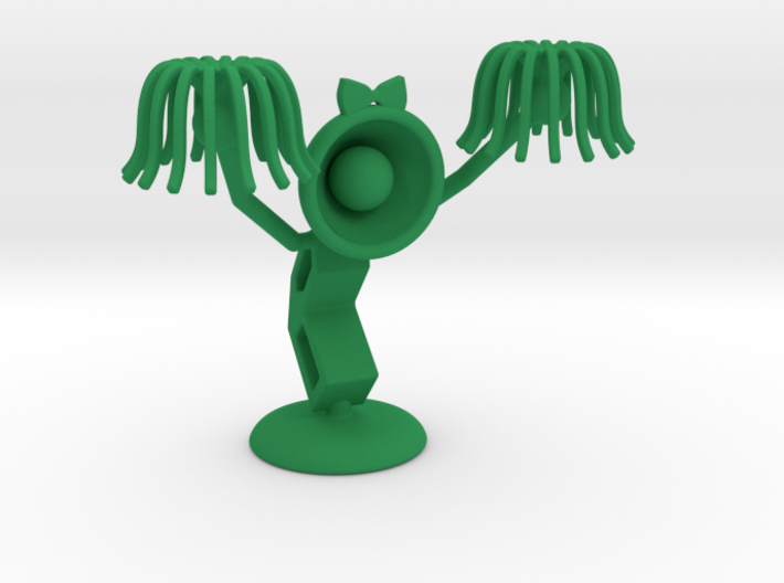"Lele as ""CheerLeader"" : ""Let's Cheer up!"" - DeskTo 3d printed"