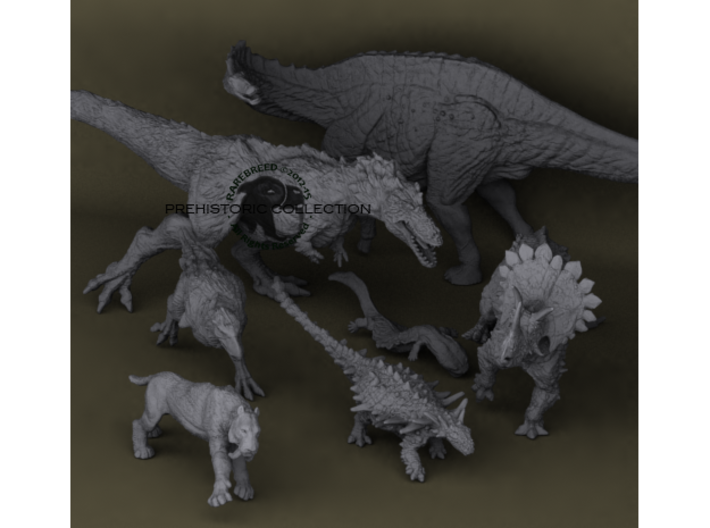 Mini Prehistoric Collection 3 3d printed 3D printed dinosaurs ©2012-2015 RareBreed