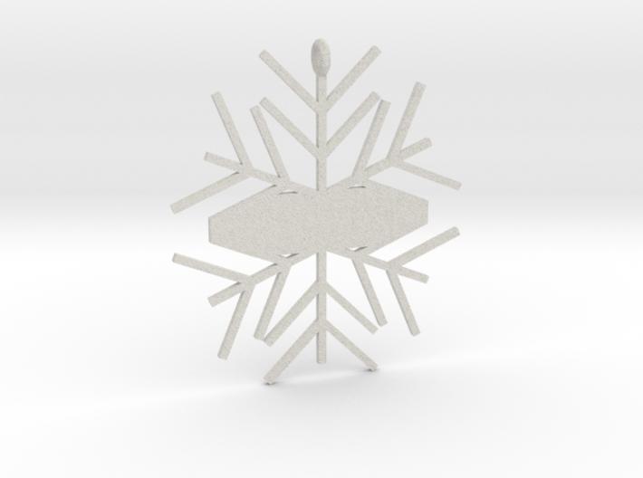 Snowflake #1 3d printed