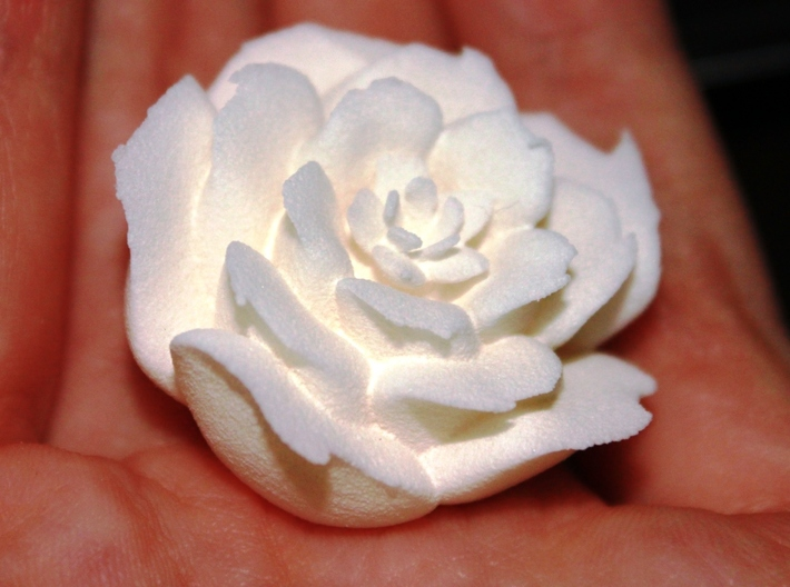 Rose Motif Small 3d printed
