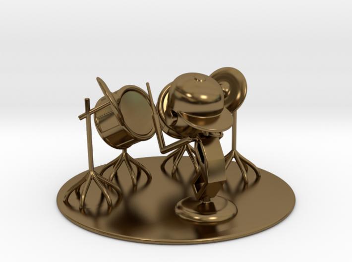 "Lala ""Trying Drums"" - DeskToys 3d printed"