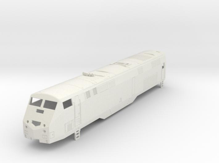 GE P32AC-DM Locomotive H0  3d printed