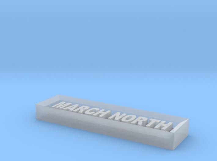 Mn Name Board 3d printed